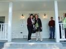 Marcia & Dagmar on the Hamner house porch