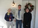Carolyn, Manfred and Marcia
