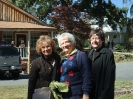 Dagmar, Carolyn and Marcia