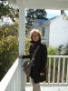Me on the porch of the Hamner house